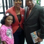Author with Cong. John Lewis